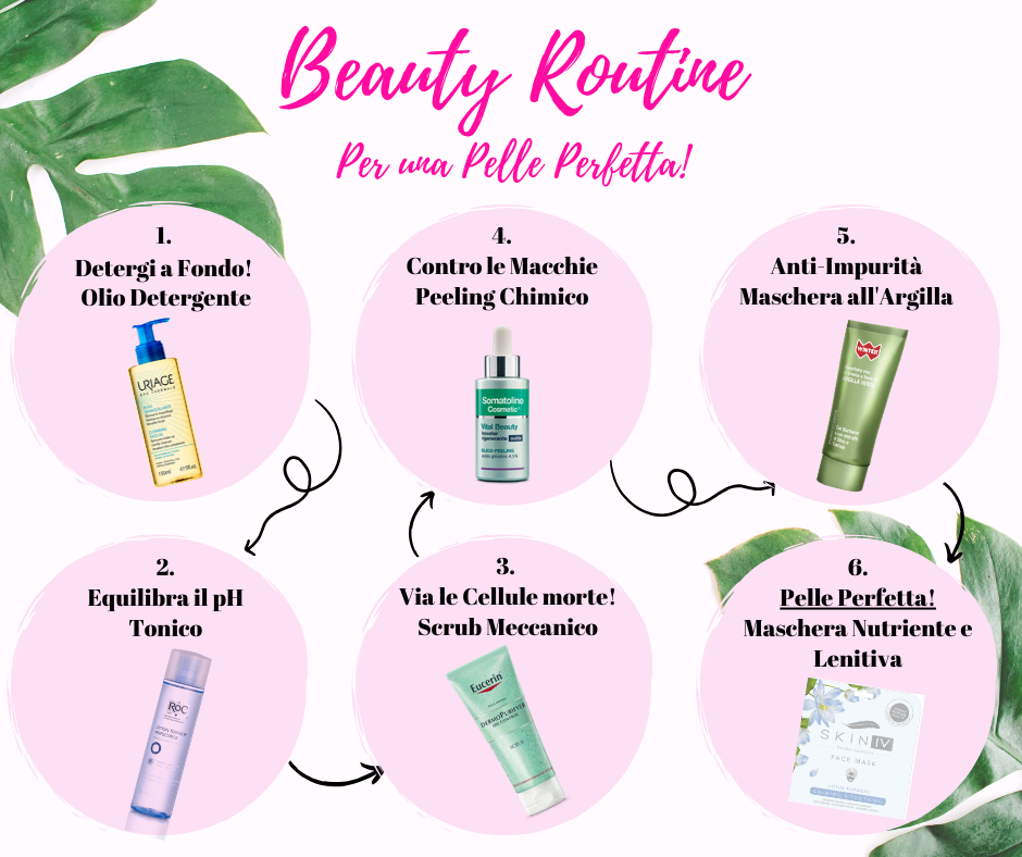 Beauty Routine per una pelle perfetta!